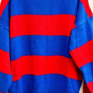 Vintage Sweaters - Disney Mickey Mouse color block sweater
